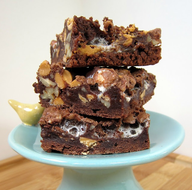 Rocky Road Brownies. Consider mixing in peanut butter chips or ...