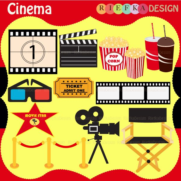 13 graphic elements of Cinema.