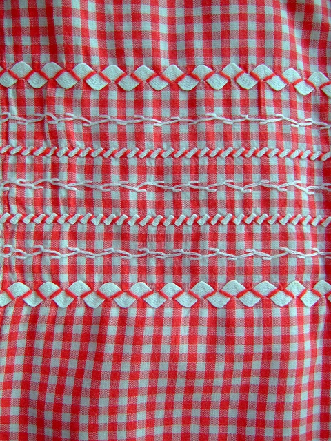 more gingham and ric rac