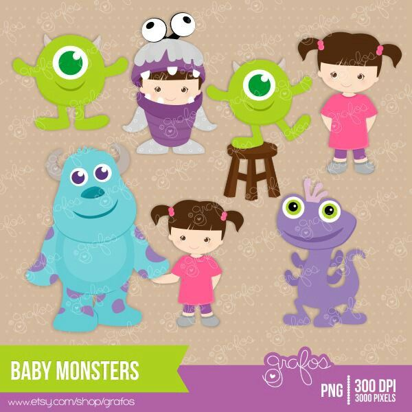 Monsters Inc Clip Art