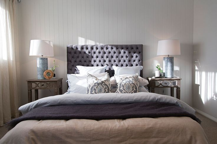 Bedroom 2 in the Plaza 44L display home with a Champagne France World of Style.