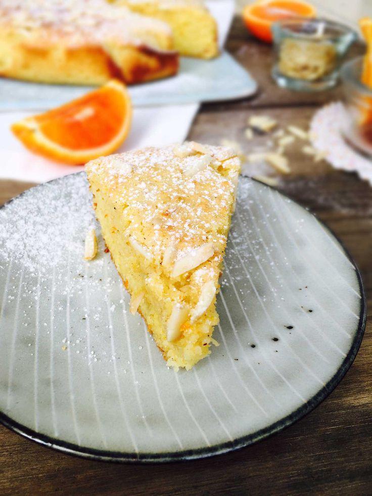 Appelsin-mandelkage. Min bedste low carb kage til dato. Sukkerfri, glutenfri og melfri. Nem opskrift her: