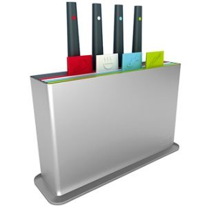 Joseph Joseph Index Plus Chopping Boards with Co-ordinating Knife Set