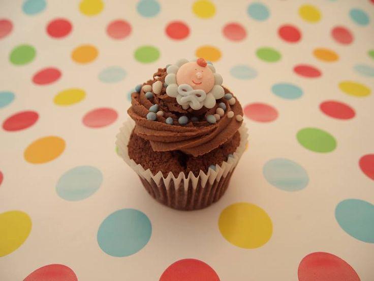 Babyshower cupcake