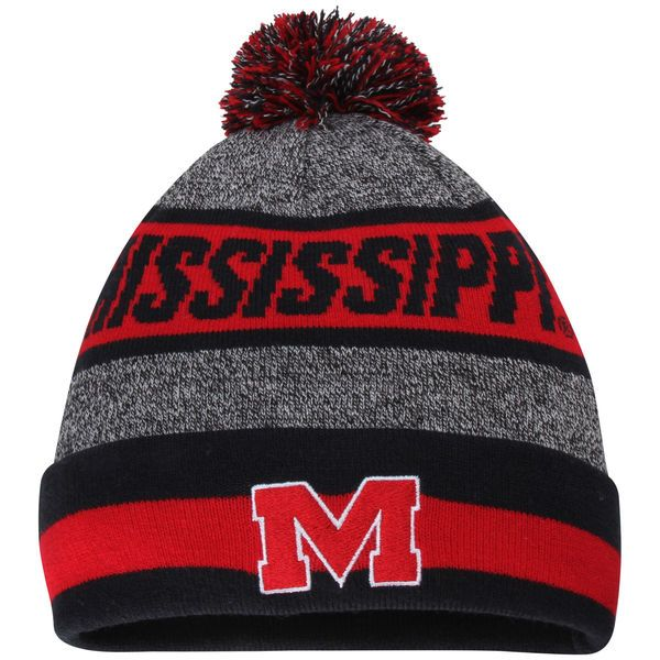 Ole Miss Rebels Top of the World Youth Cumulus Cuffed Knit Hat - Charcoal - $21.99