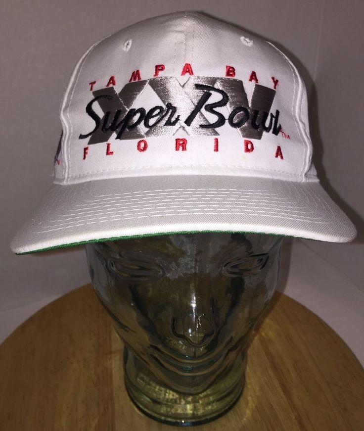 90s SUPER BOWL XXV Tampa Bay Bills Giants Hat Cap Snapback SPORTS SPECIALTIES #SportsSpecialties