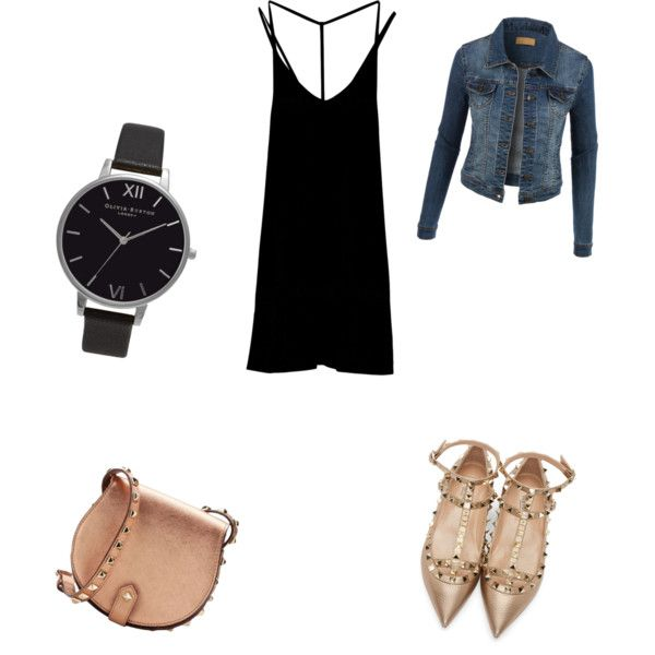 A fashion look from November 2015 by ipekimir featuring RVCA, LE3NO, Valentino, Rebecca Minkoff ve Olivia Burton