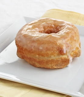 Easy Vegan Glazed Donuts recipe... SO GOOD! The dough didn't rise as much as I thought it would, so they were a little dense. However, they were DELICIOUS. I recommend adding cinnamon to the glaze- 'twas a stroke of genius!