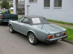 Image detail for -OLD PARKED CARS.: 1976 Fiat 124 Sport Spider.