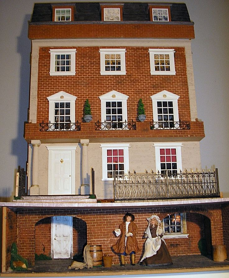 Dollhouse Miniatures Chicago: 160 Best Images About Dollhouse Ideas On Pinterest
