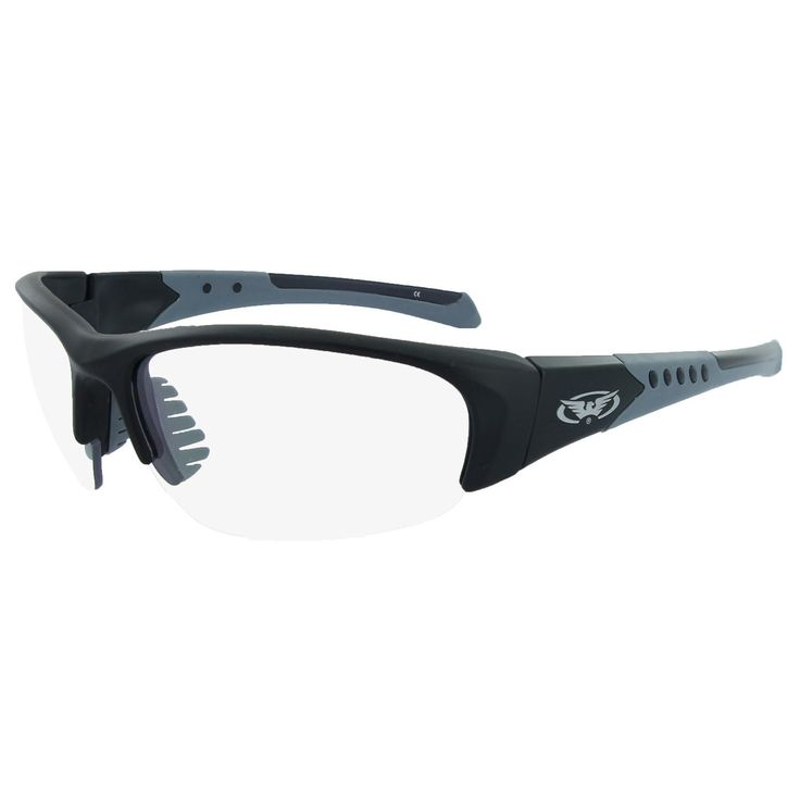 Global Vision Bold Black Frame with Hydrophobic Clear Lens
