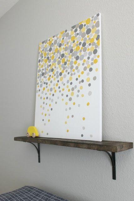 simple diy wall art @ Home Improvement Ideas