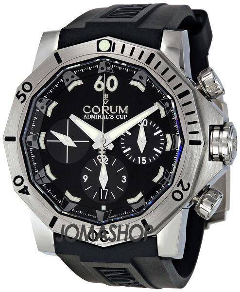 Corum Admirals Cup 46 Seafender Chrono Dive Mens Watch 753451040371-AN22 $5,500