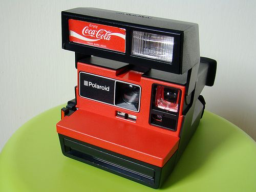Polaroid Coca-Cola (Promotional item in red, with drinks company logo): Photography Al Things, Polaroid Camera, Cocacola, Things Coca Cola, Real Things, Coke Cola,  Polaroid Land Camera, Photo Coke, Polaroid Coca Cola
