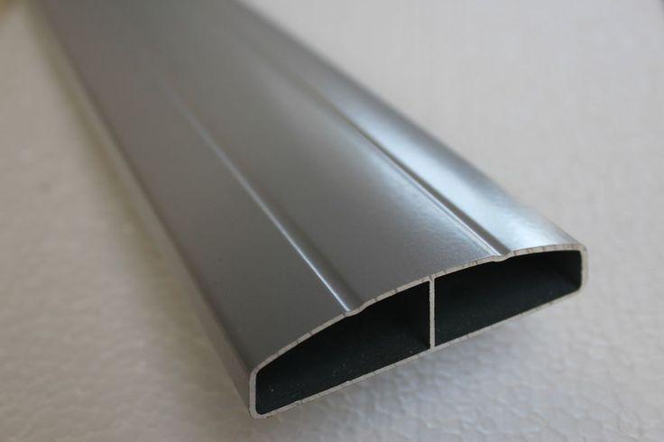 details zu aluminium profil alu zaun lattenzaun lattenprofil zaunprofil 80x20mm alu zaun. Black Bedroom Furniture Sets. Home Design Ideas