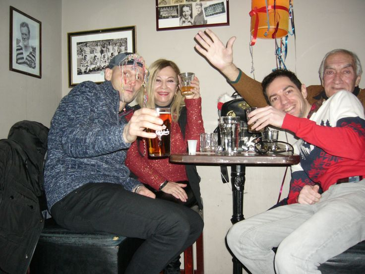 In a bar of Aarhus