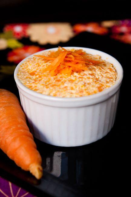 Patê de cenoura com ricota - Priscila Di Ciero