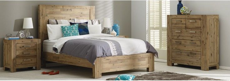 Nevada bedroom 4 piece suite $1999 | via Focus On Furniture