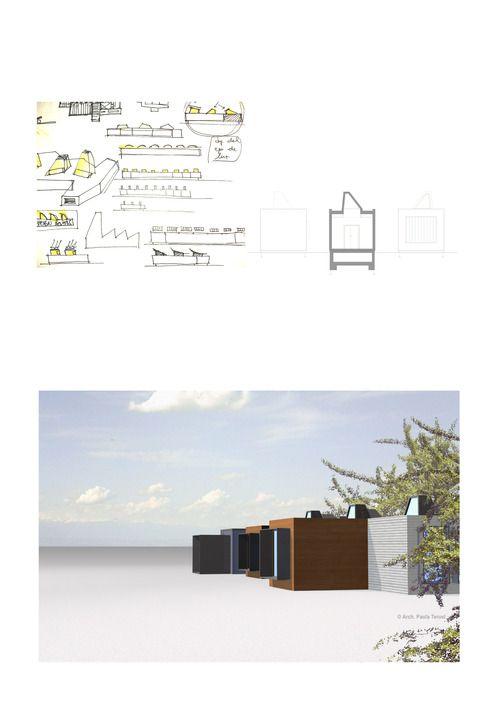 #funeral home #morgue #tanatorio #arquitectura #diseño #architecture #modular #prefab #cabin #industrialized #arquitectura industrializada #arquitectura modular prefabricada