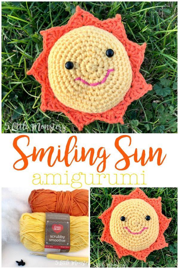 Bernat Sunshine Crochet Pillow Pattern | Yarnspirations | 900x600