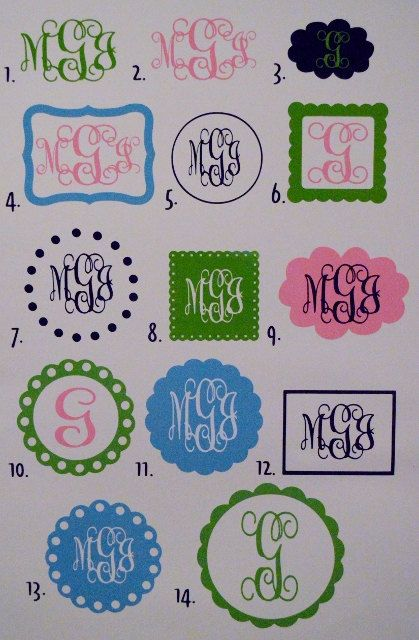 Unique Vinyl Car Decals Ideas On Pinterest Decals For Cars - Monogram car decal sticker