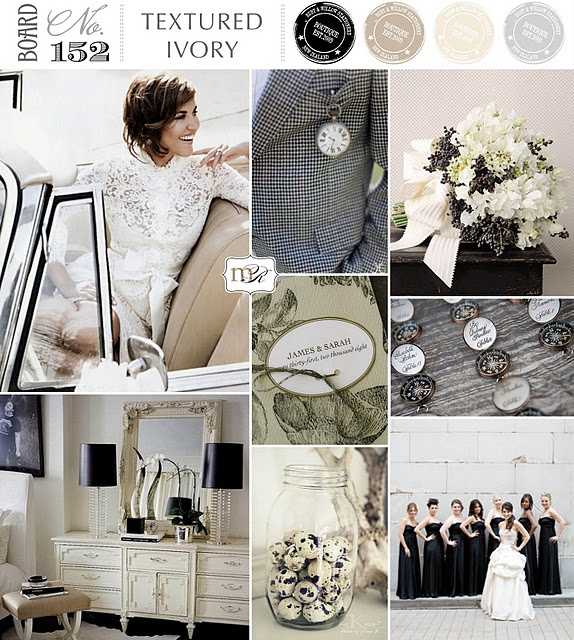 lovely neutral inspiration board from magnolia rouge: Colors Pallets, Bedrooms Colors, Black And White, Colors Stories, Inspiration Boards, Colors Palettes, Texture Ivory, Colors Schemes, Magnolias Rouge