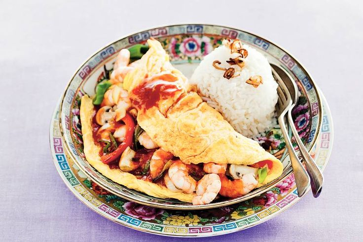 Foeyonghai met garnalen - Recept - Allerhande