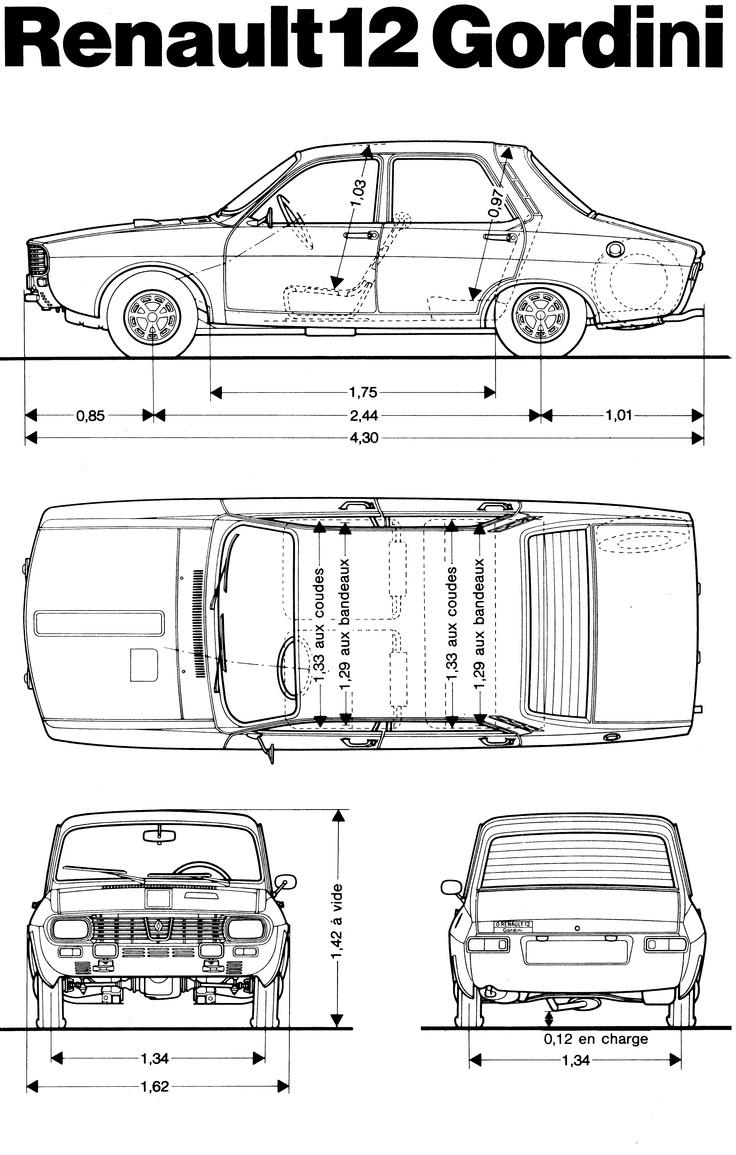 12 Gordini, later Dacia 1300 made in Romania.