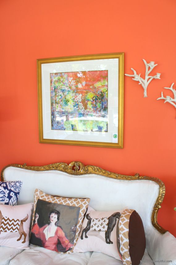 Sherwin-Williams color Daring wall colorDare Wall, Wall Colors, Bold Wall, Beautiful Coralsso, Coralsso Cheer, Painting Colors, Accent Colors, Colors Dare, Beautiful Corals So