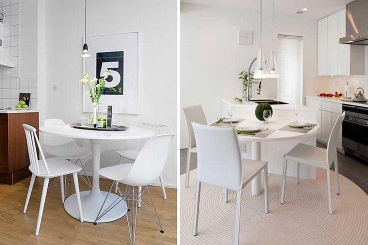 M s de 25 ideas incre bles sobre mesas de cocina redondas - Mesas cocina redondas ...