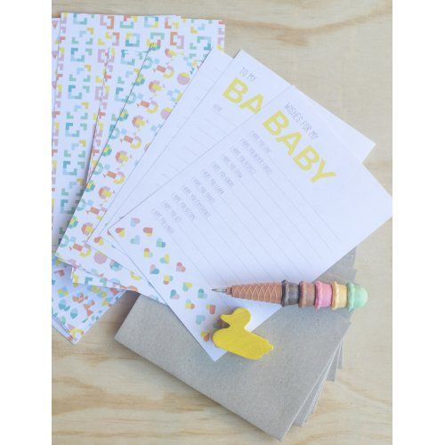 Letters To Your Child Stationery Pack by Two Little Ducklings   www.dearheart.com.au