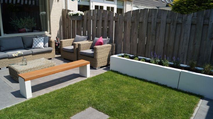 Tuinontwerp kleine tuin modern google zoeken garden pinterest - Tuin ontwerp foto ...