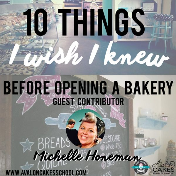 "Great article & advice: ""10 Things I Wish I Knew Before Opening a Bakery"" By Guest Contributor Michelle Honeman. Click through to read more!"