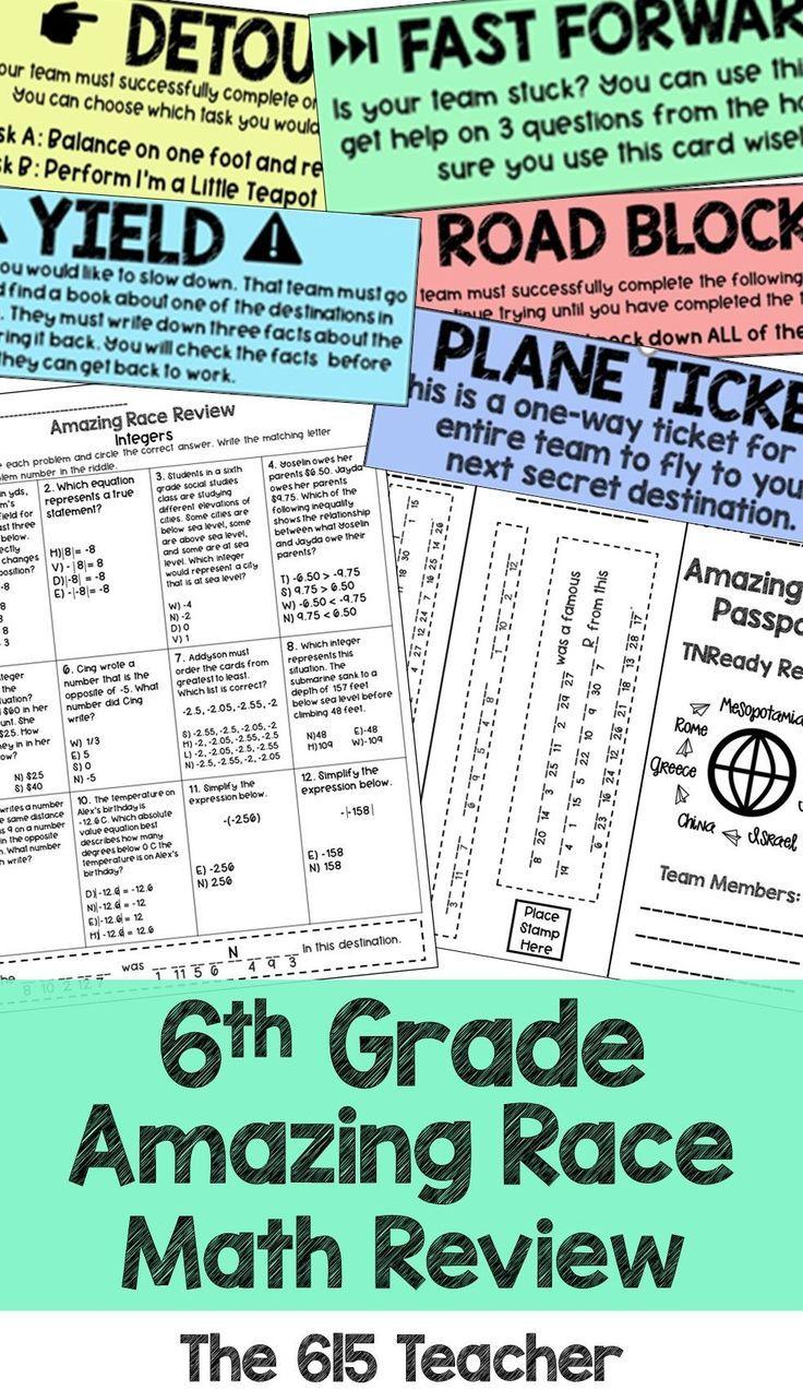 Pin On 6th Grade Geometry And Statistics Tn ready math practice test grade