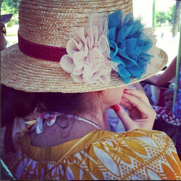 Sombrero colección Canotier de @tocadoschic