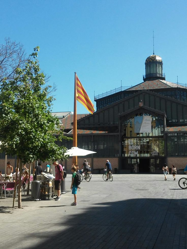 El Born, Barcelona Catalonia by Rosalia Casas