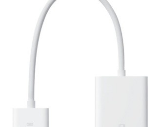 ipad-vga-adapter.  Need to connect ipad to elmo projector.