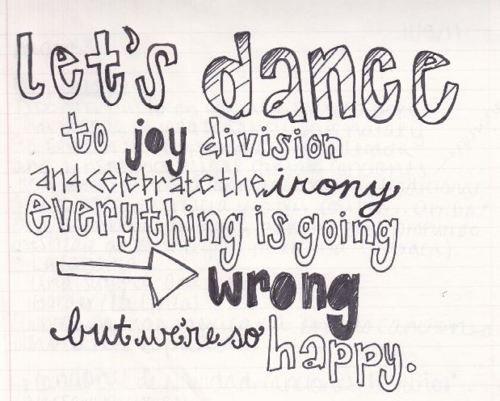 Let's Dance To Joy Division Lyrics - Song Lyrics | MetroLyrics