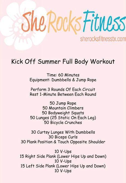 Full Body She Rocks Workout