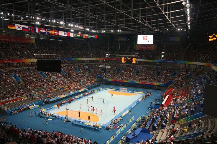 Beijing National Indoor Stadium Swimming pool plan