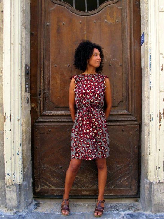 Wax print Adele Dress by La WaXeuse | Project | Sewing / Dresses | Kollabora