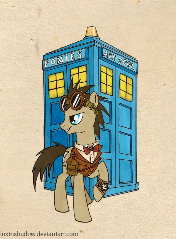 Steamy Doctor Whoof once again by *FoxInShadow on deviantART