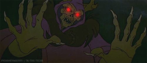 Everything about the Horned King in The Black Cauldron. | The 21 Most Traumatizing Moments From '80s Kids Films