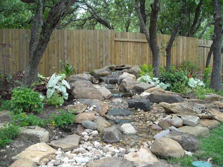 1000 images about backyard waterfall and stream on for Pond shade ideas