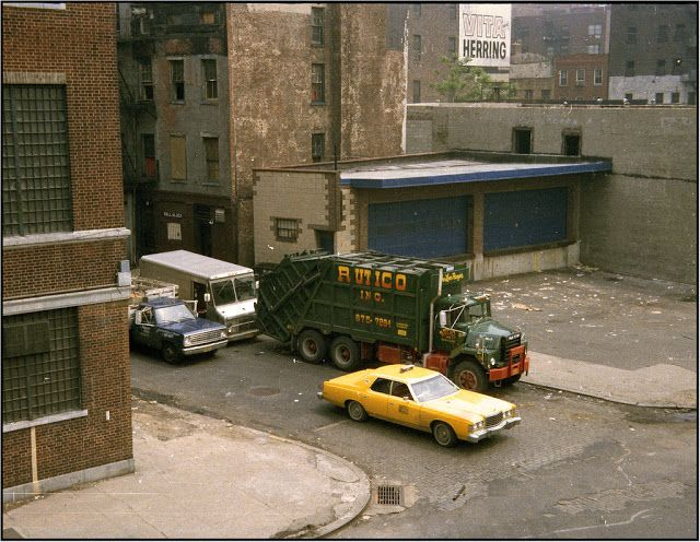 vintage everyday: New York City Memories – Old Cars on The City's Streets in the 1970s