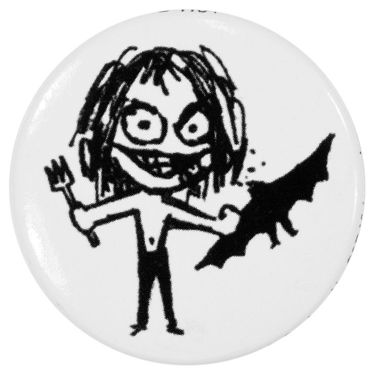 Ozzy Osbourne - Bat Button