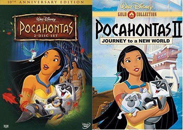Pocahontas 1&2 (DVD)