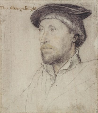 Hans Holbein the Younger (1497/8-1543) - Sir Thomas Lestrange (c.1490-1545)