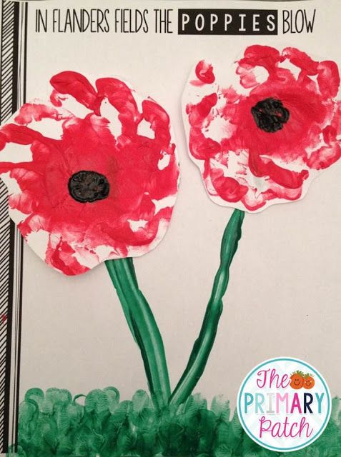 Remembrance Day activities from the Primary Patch.