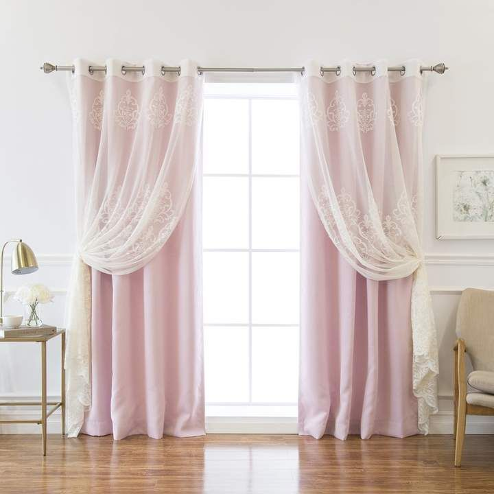 Rosdorf Park Boreas Well Sheer Agatha Blackout Curtain Panel